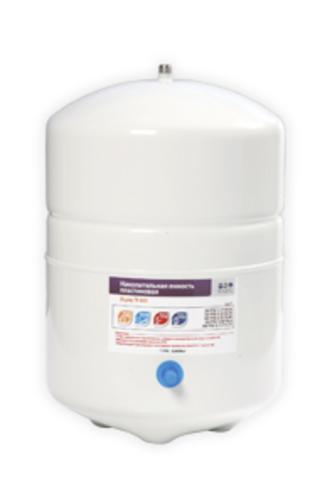Накопительная емкость металлическая ROT-3W (объем 3 Gal/10 литров, белый), Райфил