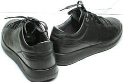 Качественные кеды кроссовки на осень мужские Ikoc 1725-1 Black.
