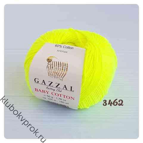GAZZAL BABY COTTON 3462, Желтый неон
