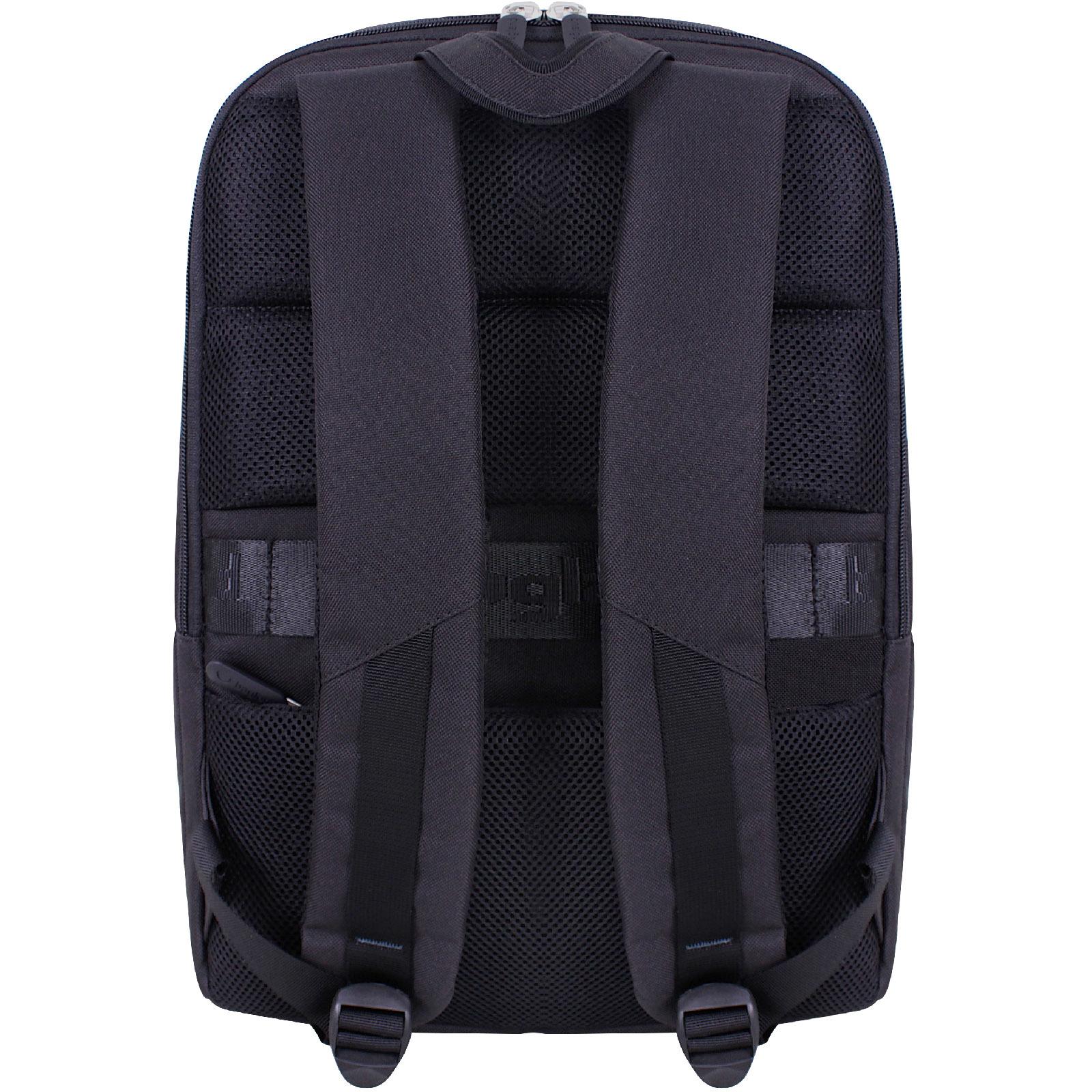 Рюкзак для ноутбука Bagland Joseph черный/кожзам (0012766)