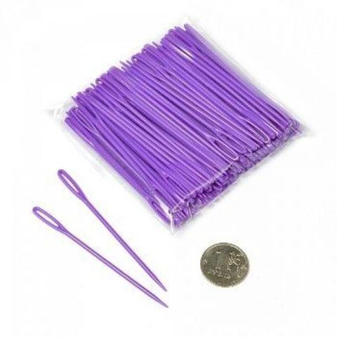 Игла для пряжи пластик 70 мм