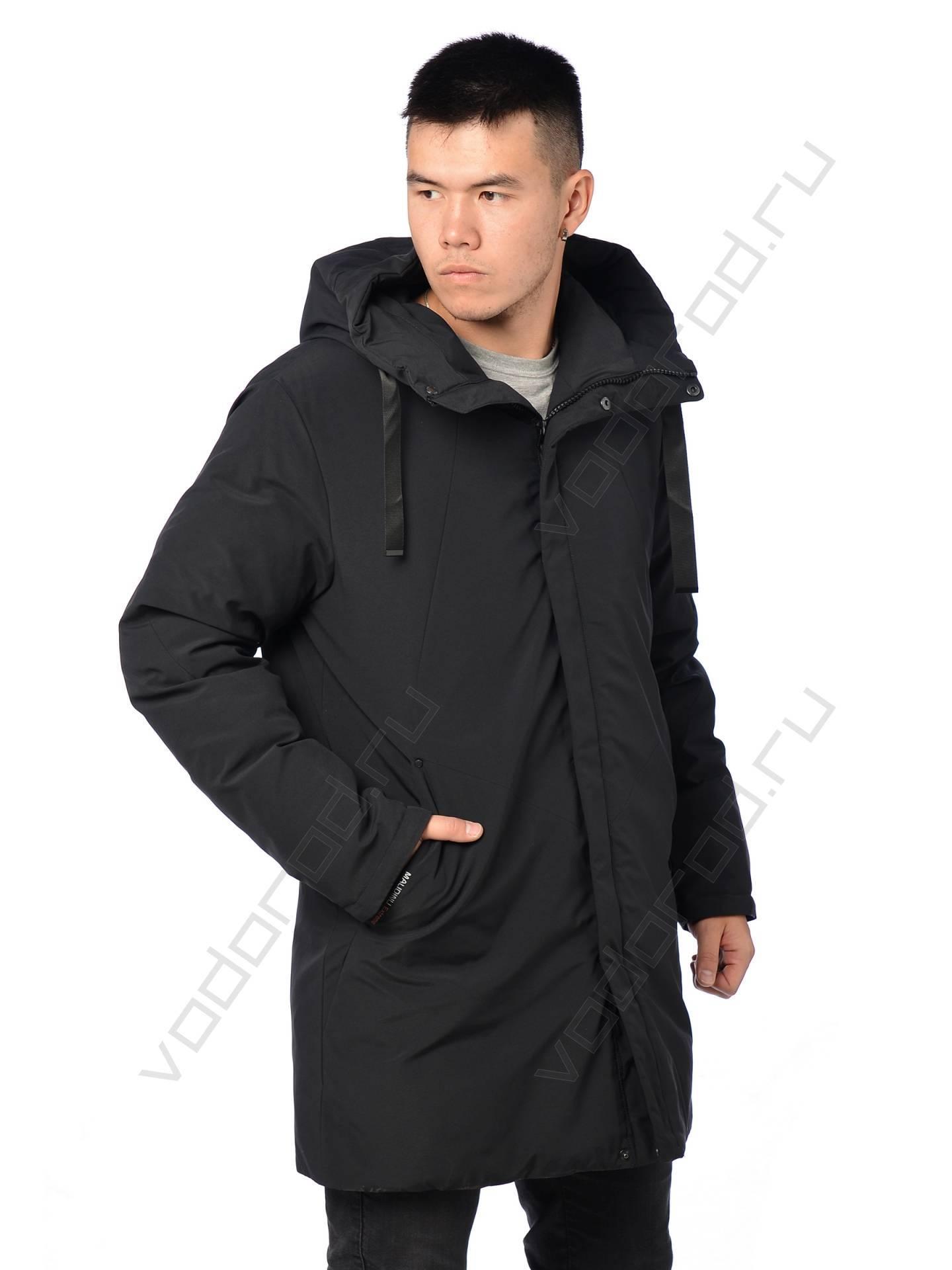 Куртка зимняя MALIDINU 19032 (черная)