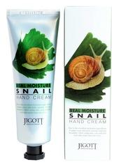 Питательный крем для рук с экстрактом улитки Jigott