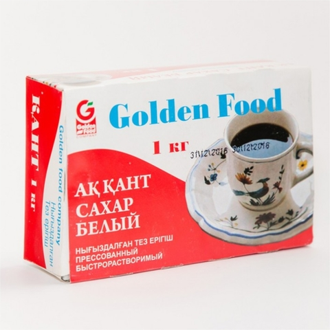 Сахар-рафинад GOLDEN CUPE 1 кг Golden Food КАЗАХСТАН