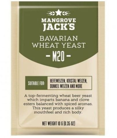 Пивные дрожжи Мangrove Jack's cs yeast m20 Bavarian wheat