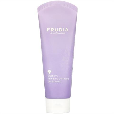 FRUDIA Гель-пенка увлажняющая для умывания с черникой Blueberry Hydrating Cleansing
