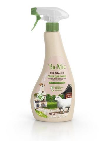 BIO MIO  эко-спрей для кухни лемонграсс 500 мл