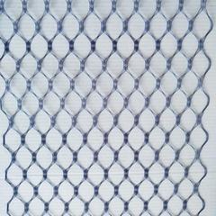 Вуаль вафельная, ширина 20 см., синий