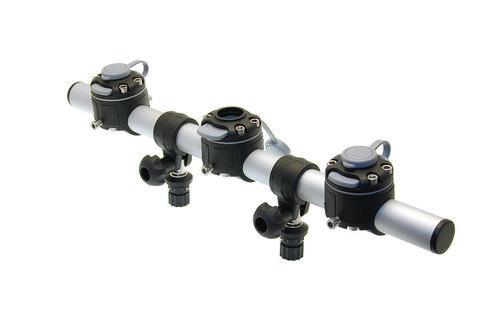 Тарга с тремя замками Gr700-3, 700 мм, черная