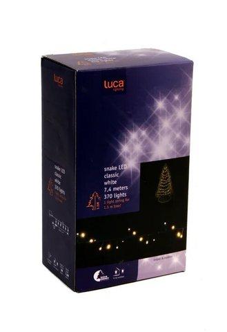 Гирлянда мягкий теплый свет 370 ламп для ёлки 155 см для наружного и внутреннего использования