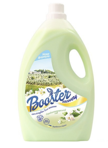 Booster Ополаскиватель для белья Средиземноморский сад 4л