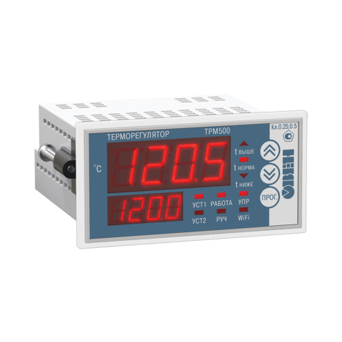 Измеритель-регулятор температуры ТРМ500-Щ2.30А Овен