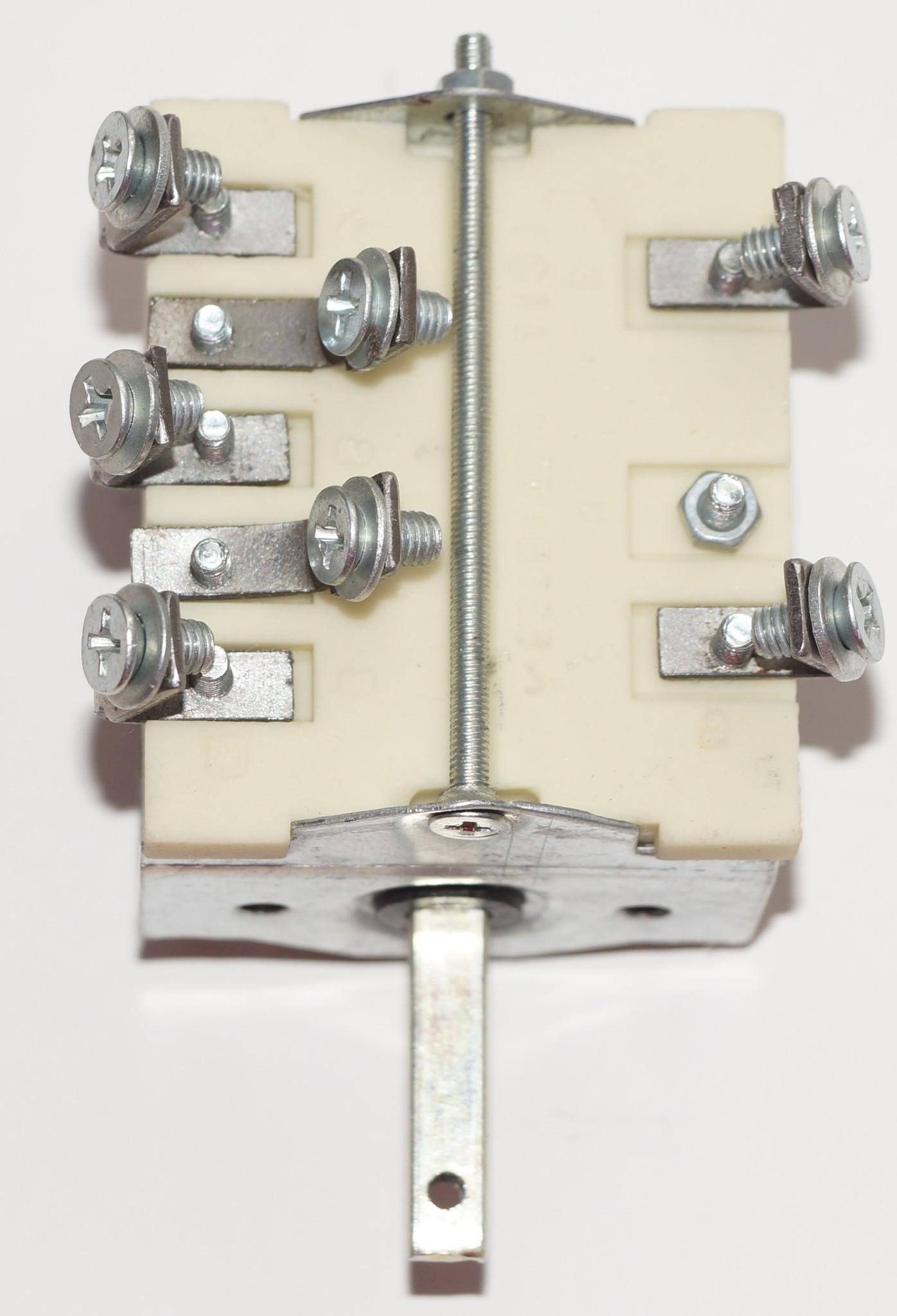 Переключатель жарочного шкафа, пяти позиционный ПМ-5 Лысьва