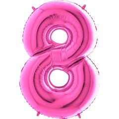 Цифра 8 (Розовая)