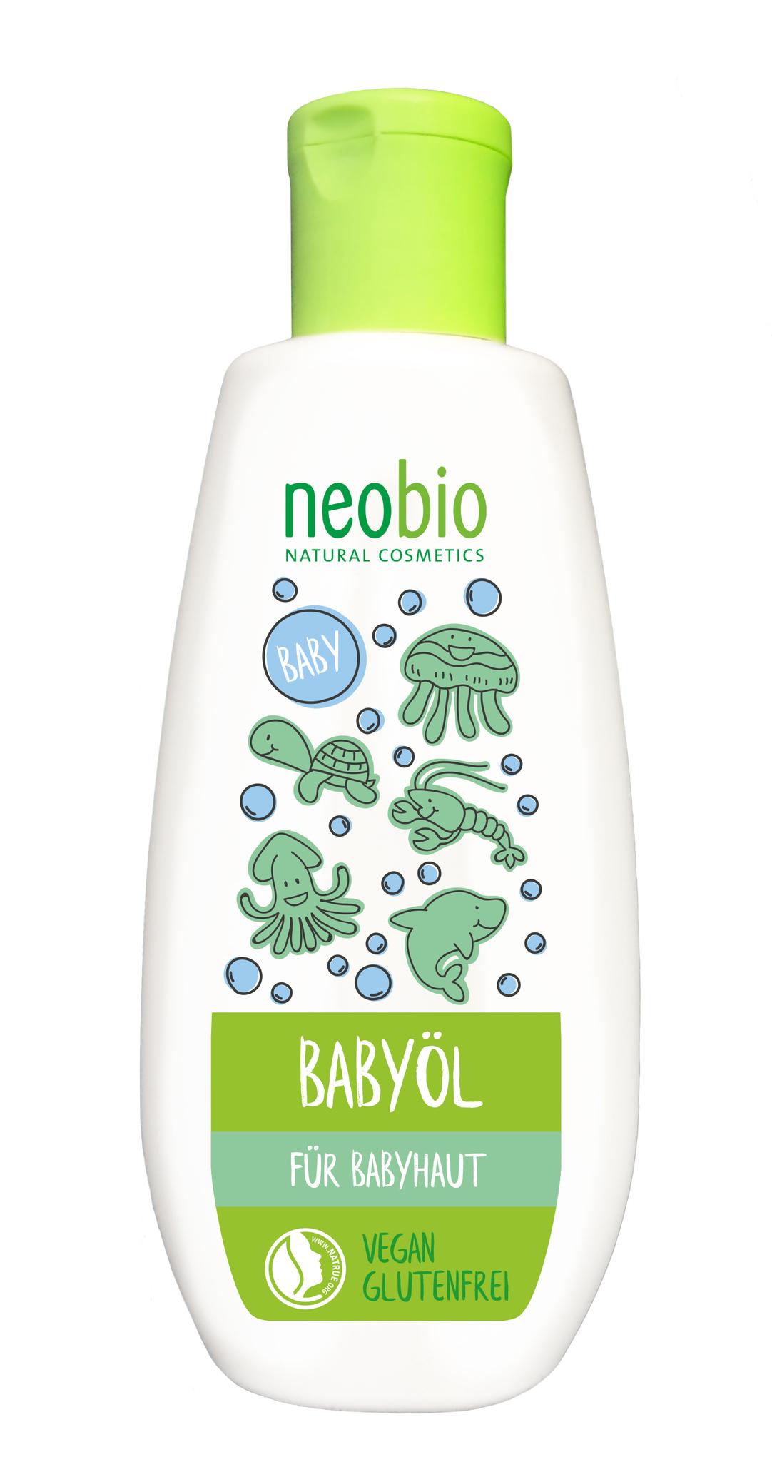 Neobio Масло с Био-Календулой для младенцев