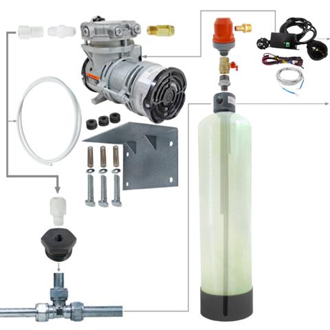 Комплект установка напорной аэрации воды 1252 / AP2 / Brio