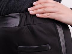 Світлана. Жіночі повсякденні брюки великих розмірів. Чорний.