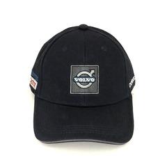 Кепка с вышитым логотипом Вольво (Бейсболка Volvo) темно-синяя