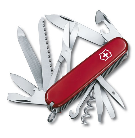 Нож Victorinox Ranger, 91 мм, 21 функция, красный123