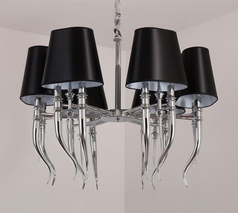 Подвесной светильник копия Brunilde С6 by Ipe Cavalli (черный)