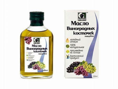 Масло виноградной косточки нерафинированное  100мл