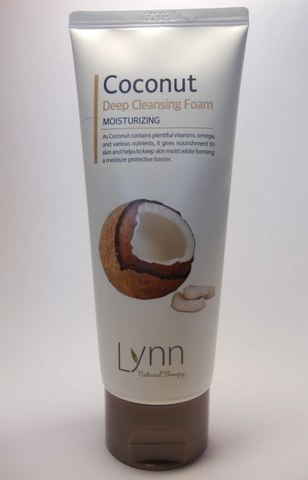 WELCOS Natural Therapy Пенка очищающая кокосовая Natural Therapy Lynn  Coconut Deep Cleansing Foam