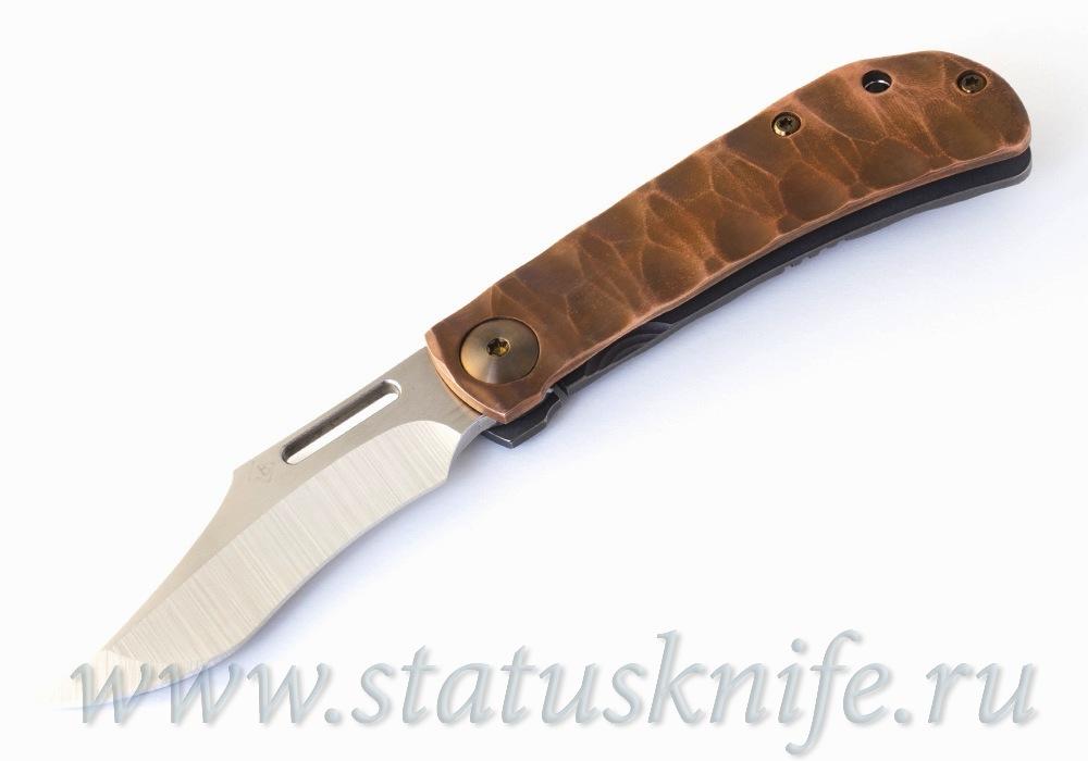 Нож Rebel Сopper Accent Jim Burke