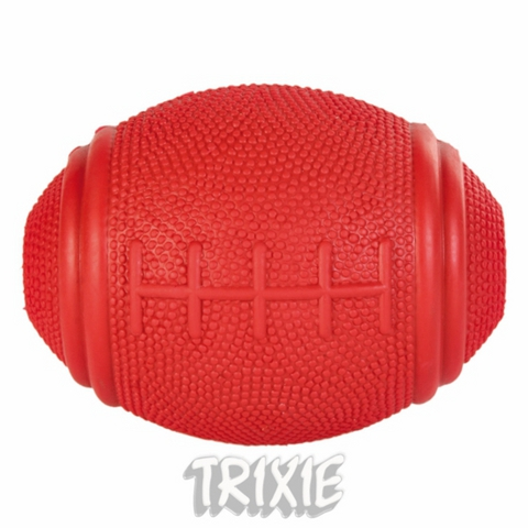 "Trixiе 3323 Игрушка д/собак ""мяч регби"", ц/резиновый 8см"
