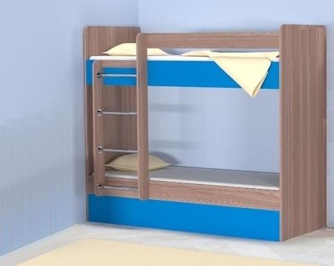 Кровать двухъярусная ОНТАРИО левая 1800-700 /1832*1604*852/