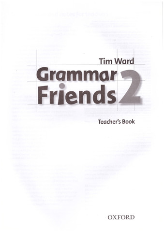 Grammar Friends 2: Teacher's Book