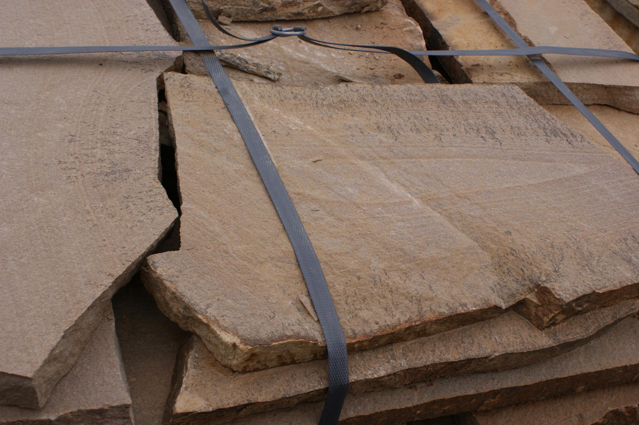 Песчаник плитняк Клён