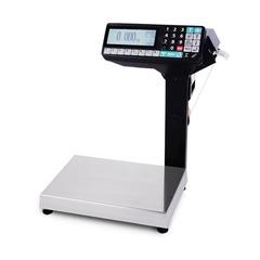 Купить Весы с печатью этикеток Масса-К MK-15.2-RP10-1, 15кг, 2-5гр, 336x240, со стойкой, с подмоткой этикеток