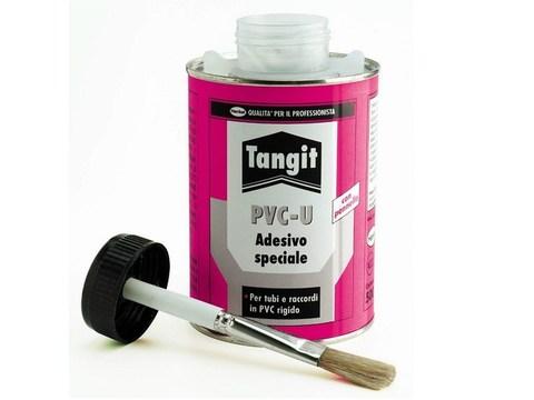 Клей для ПВХ Tangit PVC-U 1кг. с кистью