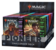Четыре разные колоды «Pioneer Challenger Deck 2021»