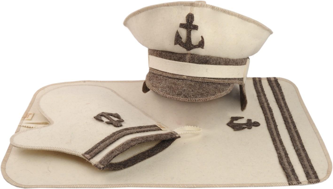 Комплект для сауны Капитан (3 предмета)