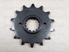 Звезда передняя (ведущая) Sunstar 34114 JTF516 для мотоцикла Kawasaki  14 зубьев