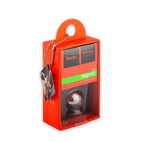 Автомобильный держатель Hoco CA6 Full-metal magnetic vehicle holder магнитный универсальный черный