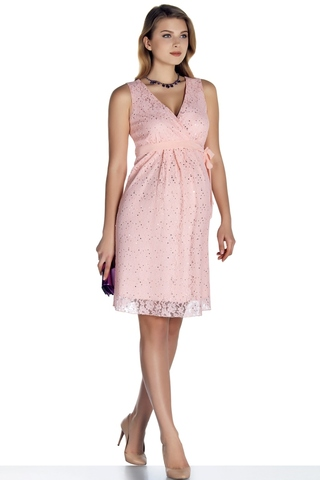 Платье для беременных 08696 розовый