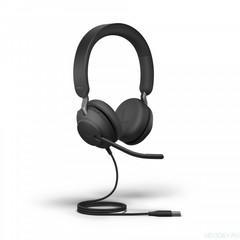 Jabra Evolve2 40 Stereo UC проводная гарнитура USB ( 24089-989-999 )