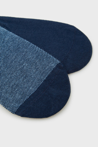 Мужские синие следы (2 пары) TH MEN FOOTIE BIRDEYE Tommy Hilfiger