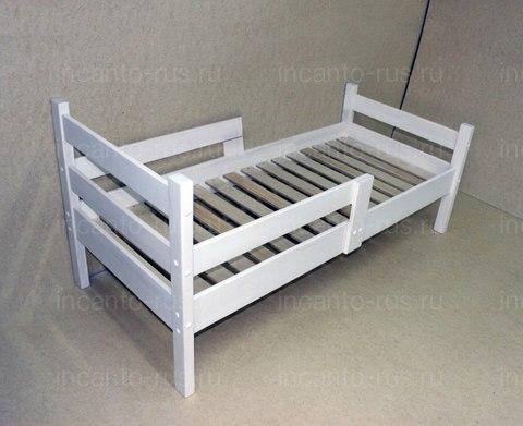 Подростковая кровать Софа Incanto Mika Ecco , цвет белый, размер 160*80