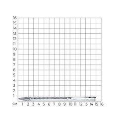 94250005- Серебряная ручка с алмазной гравировкой