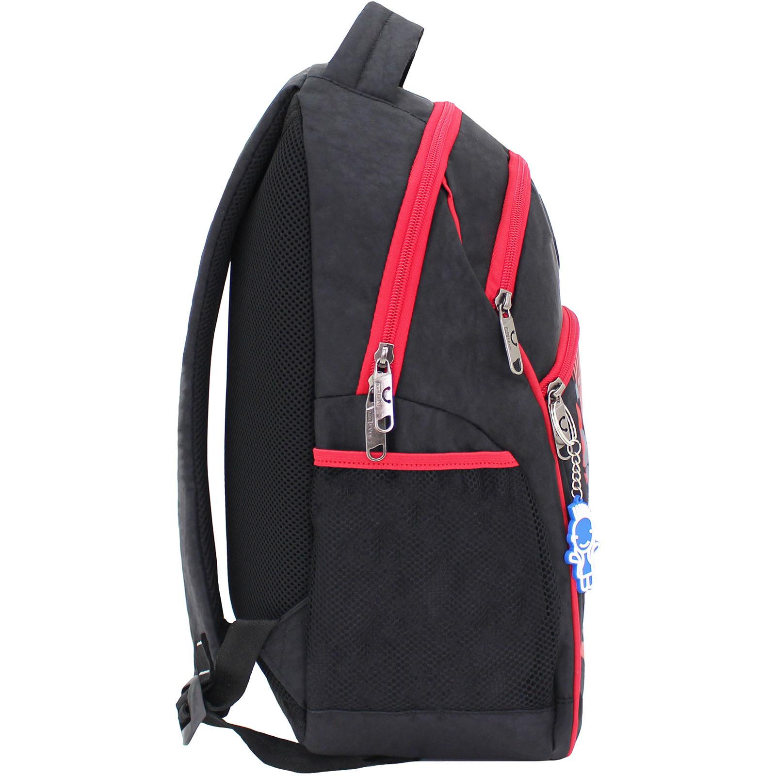 Рюкзак Bagland Лик 21 л. Чёрный/красный (0055770) фото 2
