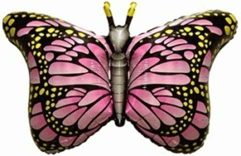 Фольгированный шар Бабочка-монарх фуше