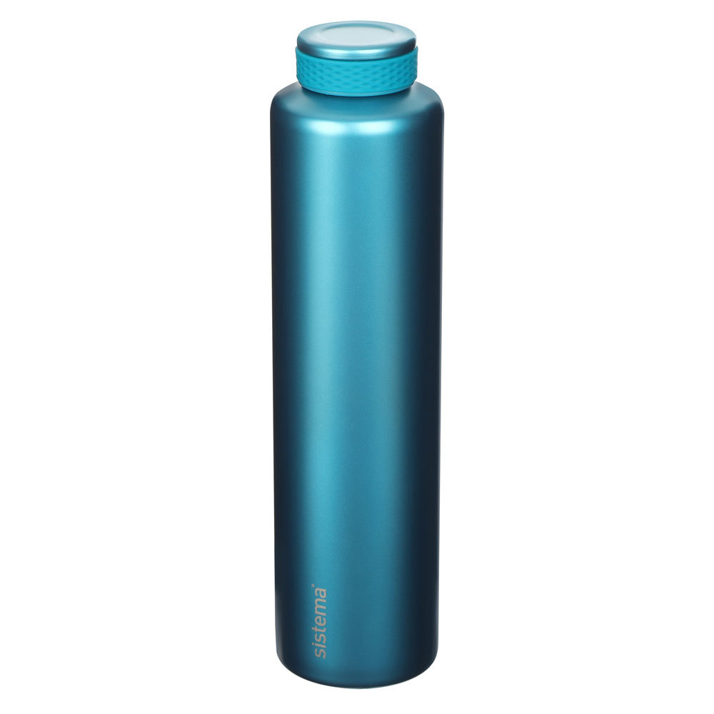 "Термобутылка Sistema ""Hydrate"" 600 мл, цвет Голубой"