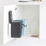 Набор ведер для мусора SORT&GO 12л (2шт), артикул 109980, производитель - Brabantia, фото 8
