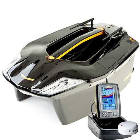 Кораблик Carpboat Toslon Xboat 730 + Эхолот TF640 GPS