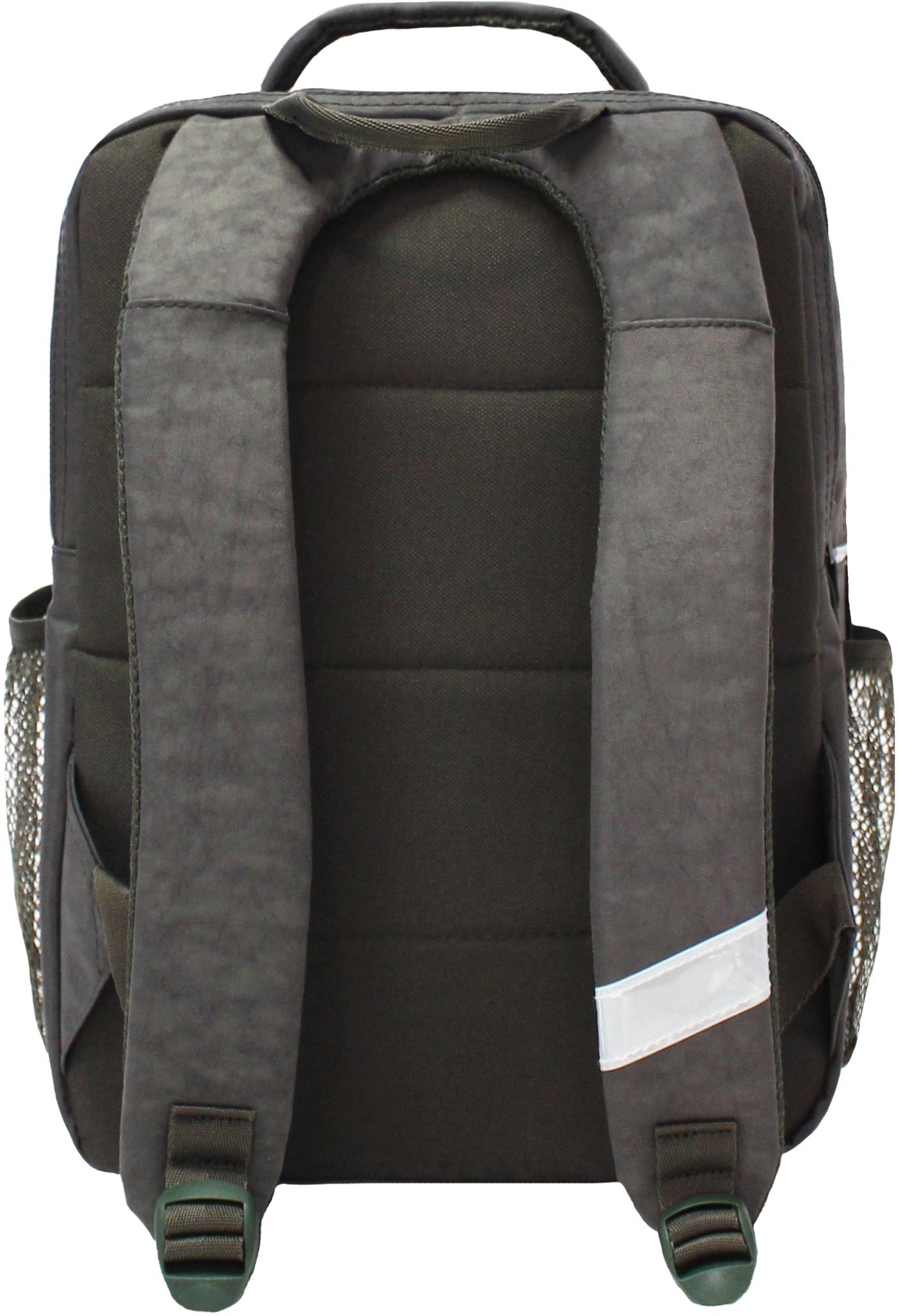 Рюкзак школьный Bagland Школьник 8 л. Хаки (54м) (00112702)