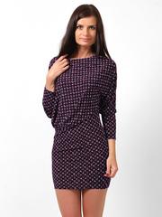 0662-1 платье женское, темно-синее