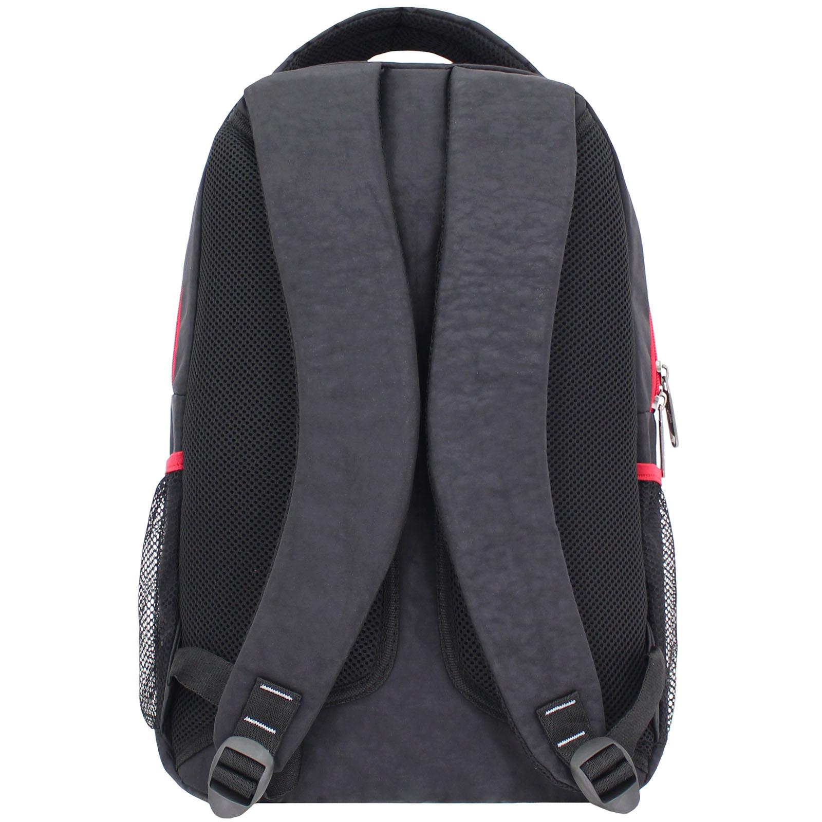 Рюкзак Bagland Лик 21 л. Чёрный/красный (0055770) фото 3